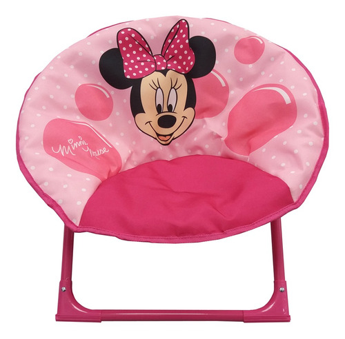 silla honguito plegable disney minnie mouse rosa-ub