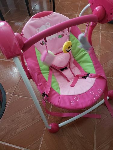 silla mecedora bebe. bebesit  excelente estado.