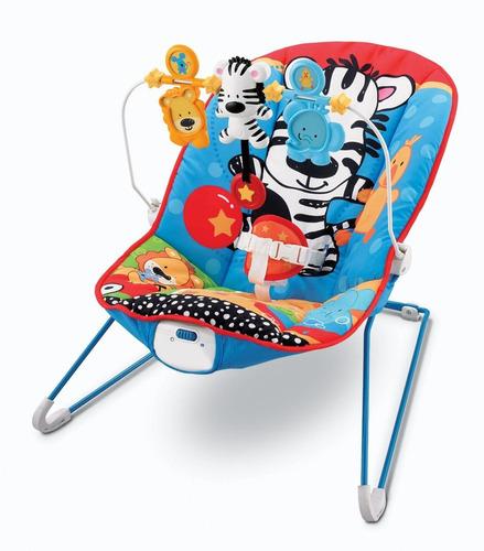 silla mecedora bebé con sonidos y música - niños y niñas