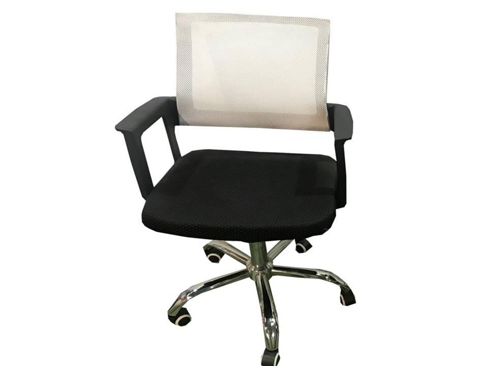 Silla Oficina Blanca Y Negra Tela Mesh Oferta Último Stock - $ 1.600 ...