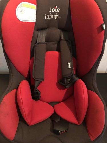 silla para auto bebé infanti joie tilt 0 a 18 kgs poco uso