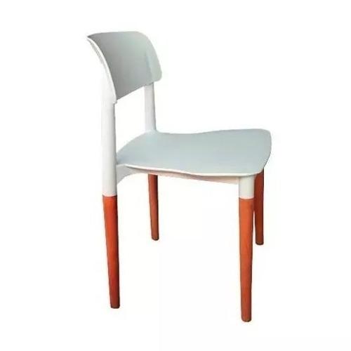 silla para comedor blanca/cerejeira luccia