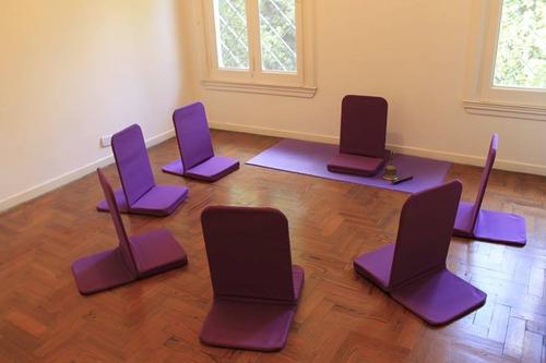 silla para piso butaca almohadón para meditar  zen sillas