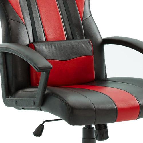 silla pc gamer escritorio profesional con ruedas y almohadón