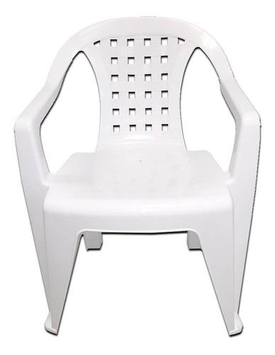 silla plástica trindade 55x41x80cm g p