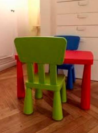 Planeta Para Plástico Niños Modelo Ikea Verde Silla dCBoex
