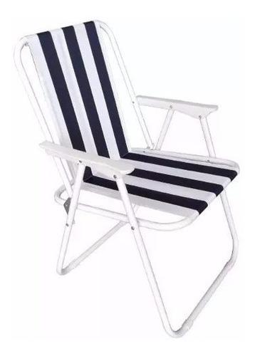 silla plegable - reposera - playa jardin camping - liviana!