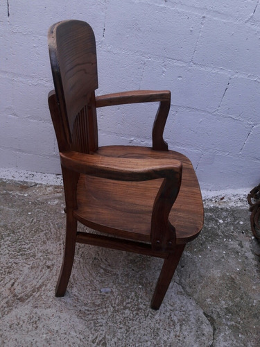 silla sillon antiguo firme y en buen estado envios
