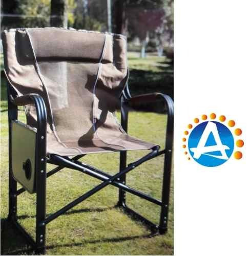 silla sillon y mesita plegable camping resistente de lujo c