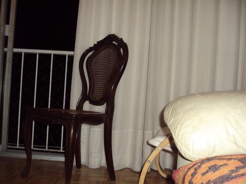sillas antiguas esterilladas francesas