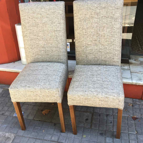 sillas- butaca- juego de comedor-madera- serra amoblamientos