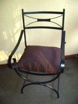 sillas de hierro,sillones,poltronas tapizadas muy resistente