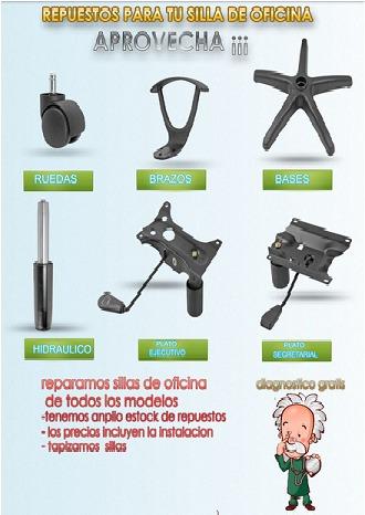 Columna Para Sillas Oficina Pc Envio E Instalacion Sin Cargo - $ 700 ...