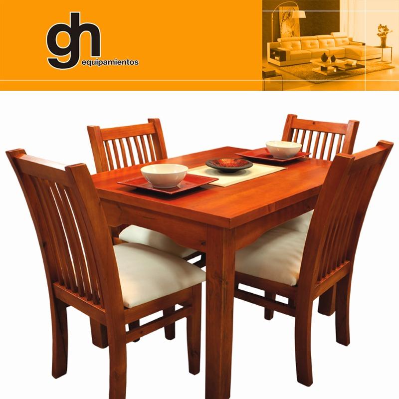 Sillas Para Cocina Comedor Mesa Living Madera Maciza Gh - $ 14.990 ...