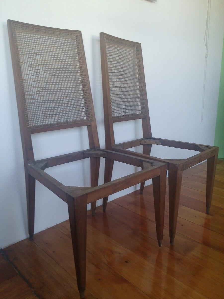 Sillas para tapizar buena madera firmes son dos iguales - Precio tapizar sillas ...