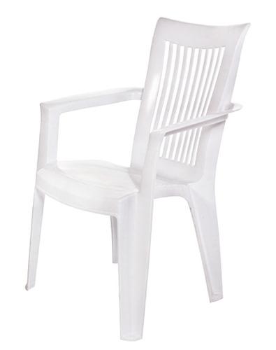 sillas silla de jardin sillon royal - blanco bigsale