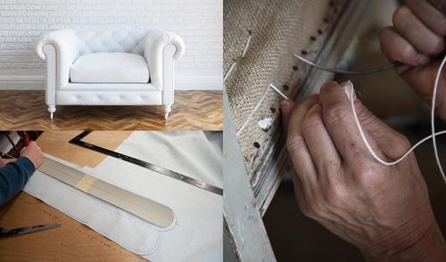 sillas sillones butacas todo como nuevo tapicero
