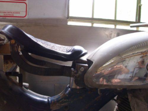 sillin o aciento de nsu 250 300cc para moto antigua mod. 60