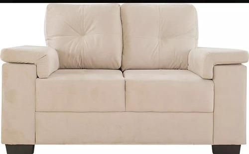 sillon 2 cuerpos color blanco beige comprado en diciembre