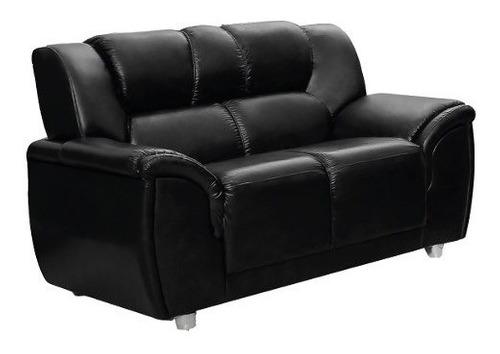 sillon 2 cuerpos sofa córdoba pu negro