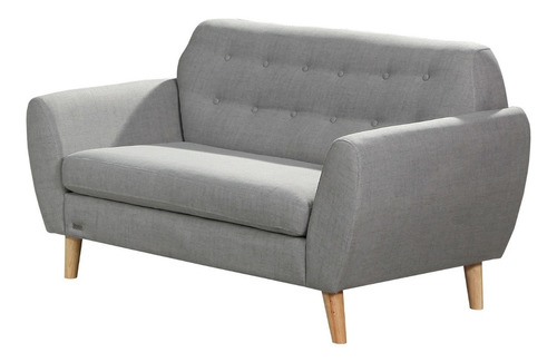 sillon 2 cuerpos tela nordico living comedor sofa