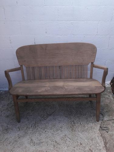 sillon antiguo de roble consulte todo sano y firme envio