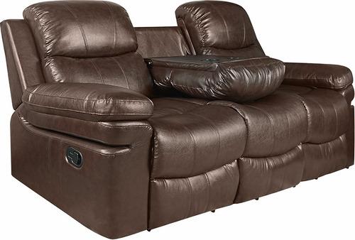 sillón reclinable 3 cuerpos new york home muebles