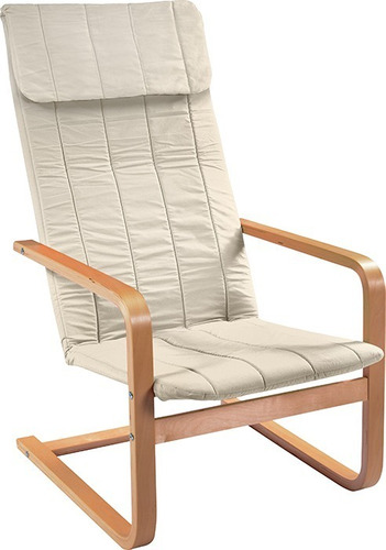 sillon relax flex beige microfibra silla decora tu casa nnet