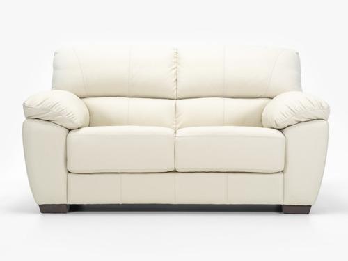 sillon sofa 2 cuerpos cuero 100% natural pacific nyr