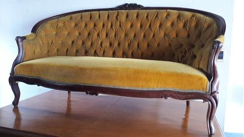 sillón sofa estilo luis xv impecable estado, puede verlo