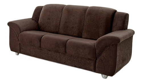 sillon sofa juego living 2+3 cuerpos tela+panel+rack+mesa lg