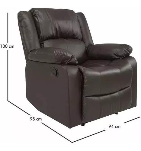 sillon sofa reclinable poltrona butaca 3 posiciones