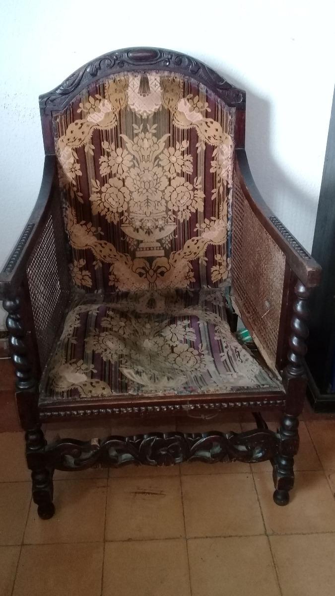 Sillones antiguos para restaurar oferta sofa y dos en mercado libre - Sillones antiguos para restaurar ...