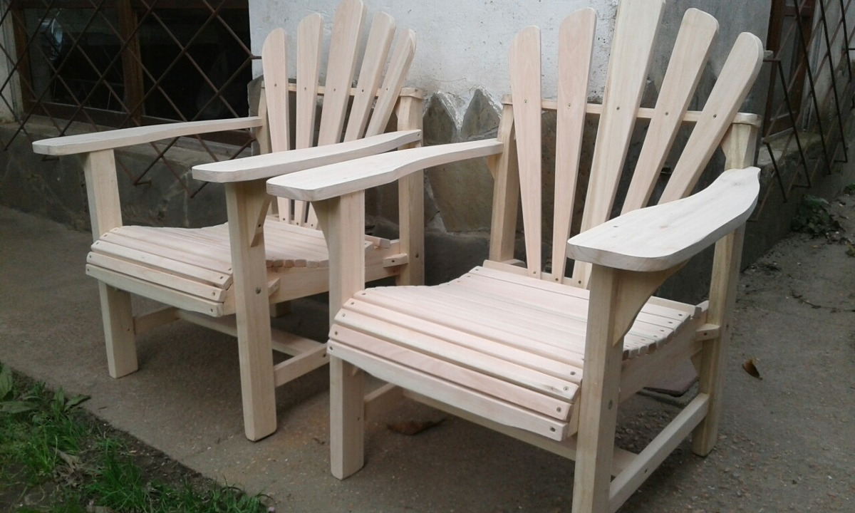 Sillones madera en mercado libre for Sillones de jardin de madera
