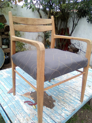 sillones nordico  de roble