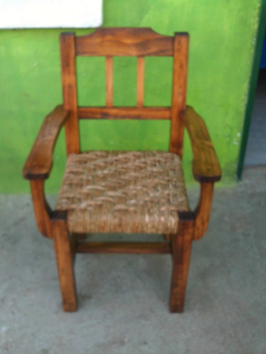 sillonsito para niños en madera mazisa tejido en cardo nuevo
