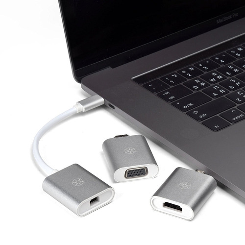 silverstone technology usb 3.1 type c to 4k hdmi minidp