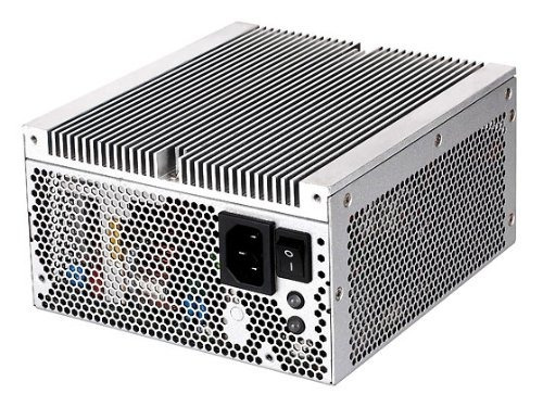 silverstone tek nightjar series 500 watts fanless 80 plus