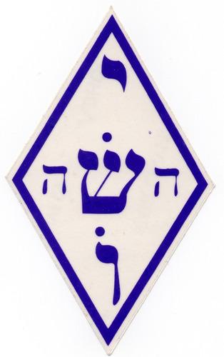 simbolo adhesivo protector contra ladrones, robos y ataques.