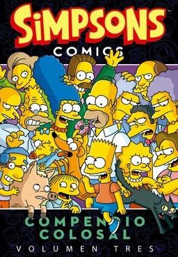 simpson comics - compendio colosal - volumen 3