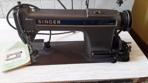 singer 49 d300ga industrial recta (escucho oferta razonable)