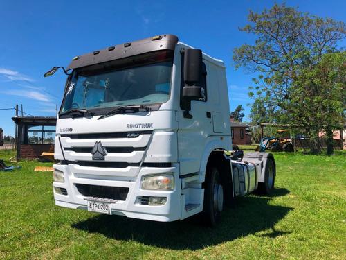 sinotruk howo 380 tractor 4x2 2015