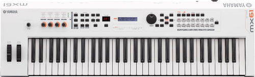 sintetizador yamaha mx61wh blanco mx61 /  en belgrano!
