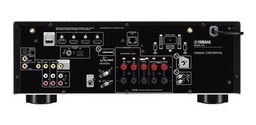 sintoamplificador receiver yamaha rxv485b