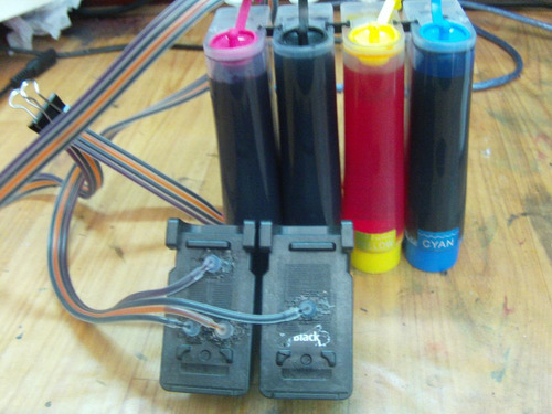 sistema continuo con cartuchos para canon mg3610,prontos