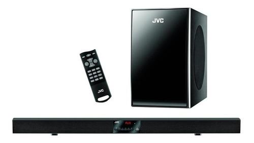 sistema de audio jvc by370bt 2.1 barra + subwoofer bt fm loi