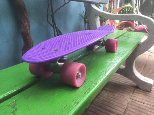 skate estilo penny patineta aluminio ruedas pu