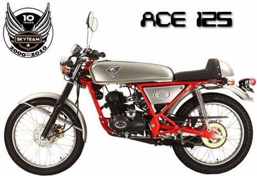 skyteam ace  125  cafe racer