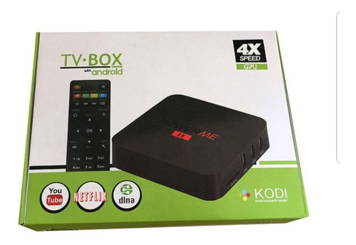 smart tv box , power me 4k
