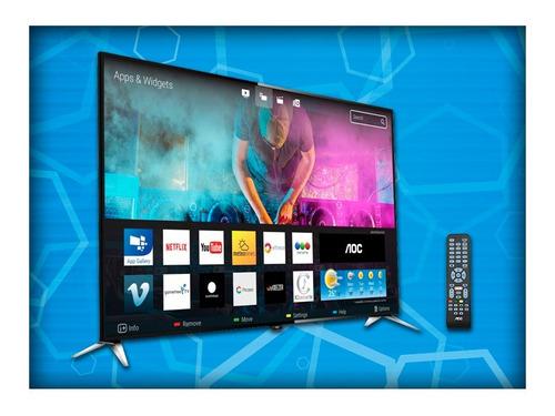smart tv led aoc 50 4k wifi smart netflix garantia 2 años